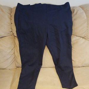 Style & Co Leggings 24w Navy Blue NWT